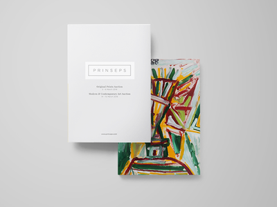 Prinseps Dribbble print design modern art book design front cover art book a4 book indesign