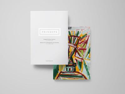 Prinseps Dribbble print design modern art book design front cover art book a4 book indesign