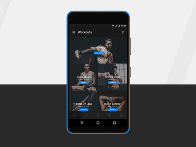 Android App Designed for Mobiefit India android app uiux design android uiux exercise logo fit photography lightroom behance app fitness