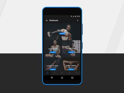 Android App Designed for Mobiefit India android app uiux design android uiux exercise logo fit photography lightroom behance app fitness