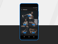 Android App Designed for Mobiefit India