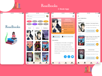 E-Book application