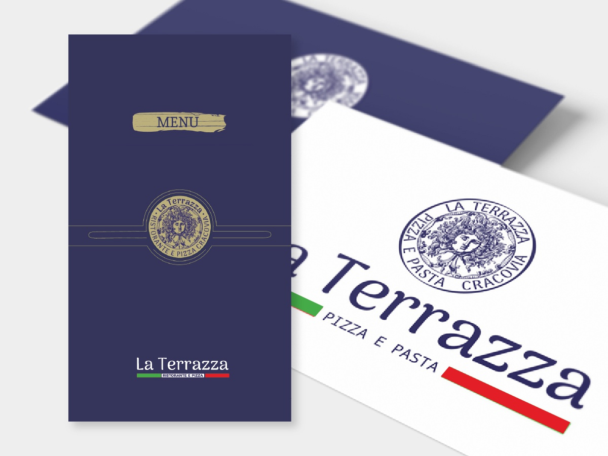 Restaurant Menu List Cover Logo And Visit Card Design By