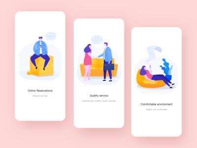 Guide Page Design-Service