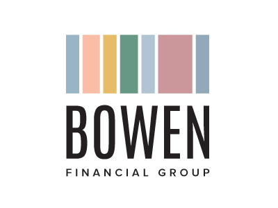 Bowen Financial Group typography logo branding