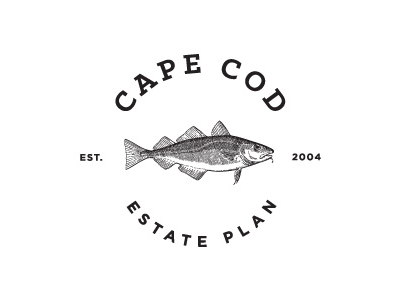 Cape Cod Estate Plan typography logo branding