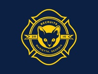 Marietta Fire Department 2016 Recruit Logo