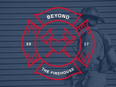 Beyond The Firehouse support group branding logo