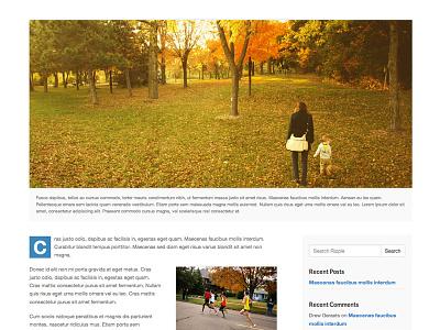Ripple WordPress Theme - Post wordpress theme post blog