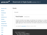 Shamrock Panel Styles