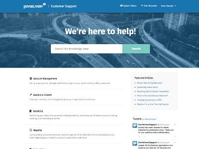 GovDelivery Support Site help center zendesk