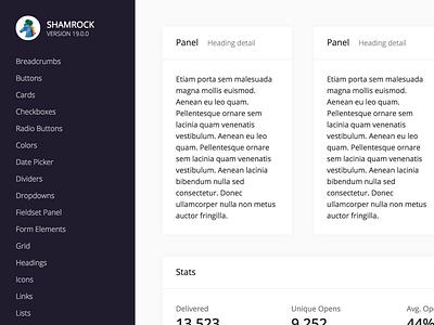 Shamrock 19.0.0 ui system design system
