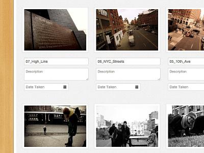 Upload Page Large upload photos uploading
