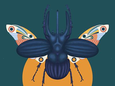Beetle juice interior digital illustrator digital art digitalart print prints illustration art photoshop procreate pattern design pattern nature art nature insects insect bug illustration illustrator beetle