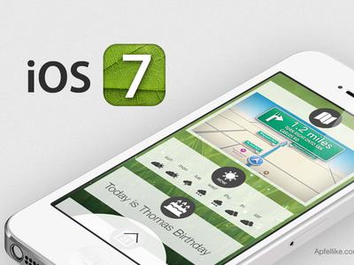 iOS 7 / 8 - Notification screen ios 7 ios 8 iphone iphone 6 ios app apple