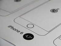 iPhone 6 Print-Template