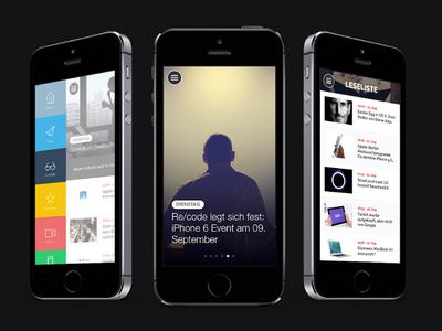 Apfellike App apfellike app iphone design news blog