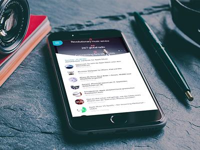 Blog & News App iphone blog app