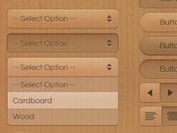 Cardboard UI Set