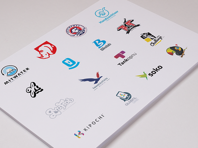 Logo + Logo + Logo strategy consulting technology sports branding graphic design design logo