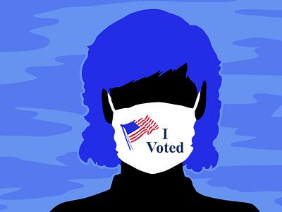 Super Tuesday 2020 vector art elections politics democracy illustration fresco vector