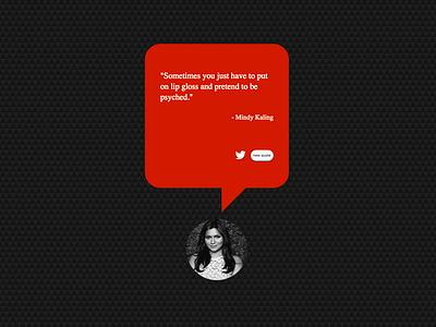 Quote Machine App website design responsive design json restful reactjs scss html5 app typography web responsive web  design ui