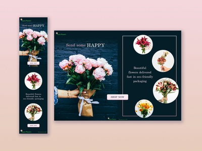 Responsive Landing Page pink blue design sketch web responsive design responsive web  design ui design ui