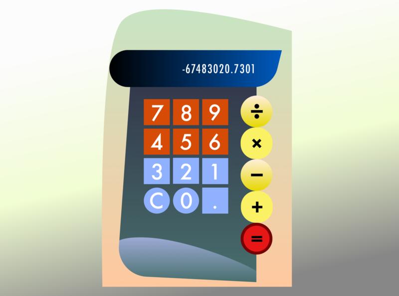 Bauhaus Calculator kandinsky bauhaus design dailyui illustration vector sketch web web  design ui