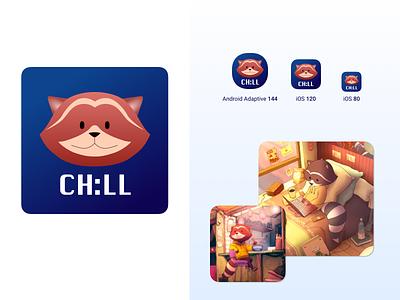 Chillhop LoFi Hip Hop Icon vector android ios sketch illustration web icon