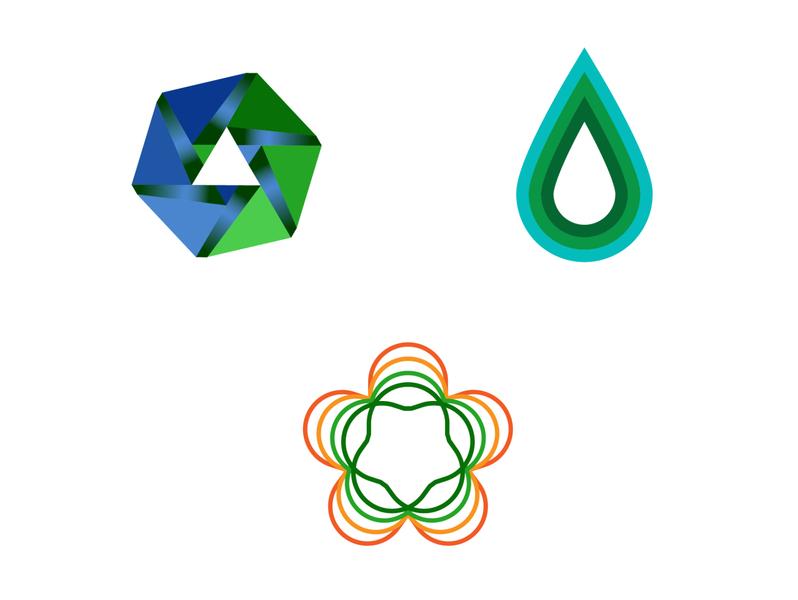 Logos for The Nature Conservancy branding illustrator illustration vector logo icon