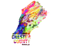 Chester County Sticker Design