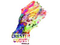 Chester County Sticker Design