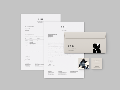ren - corporate design