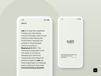 sab - digital receipts