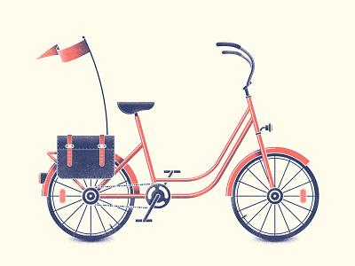 Burkibike bike bicycle t-shirt tee illustration