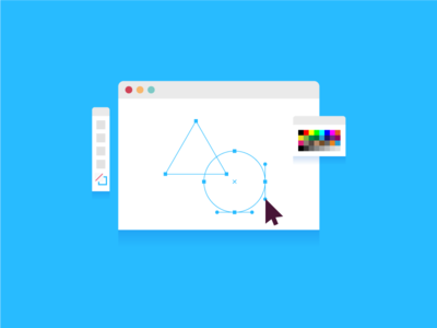Illustrator ai geometry drawing osx window software ui illustration spot illustrator