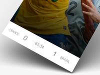 WC2014: Scoreboard