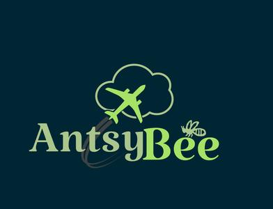 Bee Travel Logo Concept