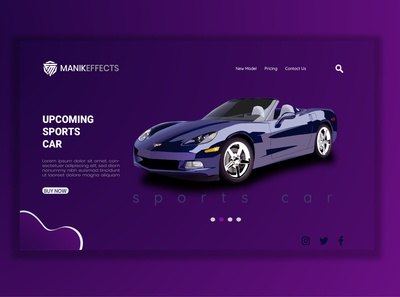 CAR WEB DESIGN TEMPLATE