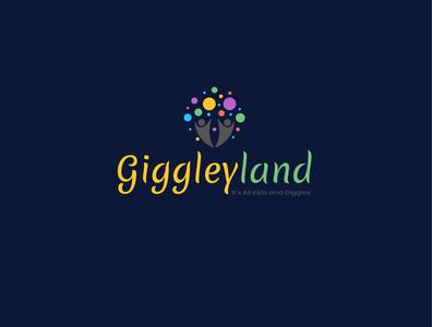 Giggleyland Logo Design