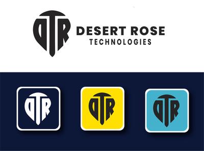 LOGO DESIGN FOR DESERT ROSE TECHNOLOGY