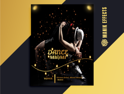 DANCE EVENTS POSTER CONCEPT