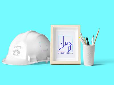 íluz – naming and branding design concept naming logo brand design light mockup branding architecture íluz