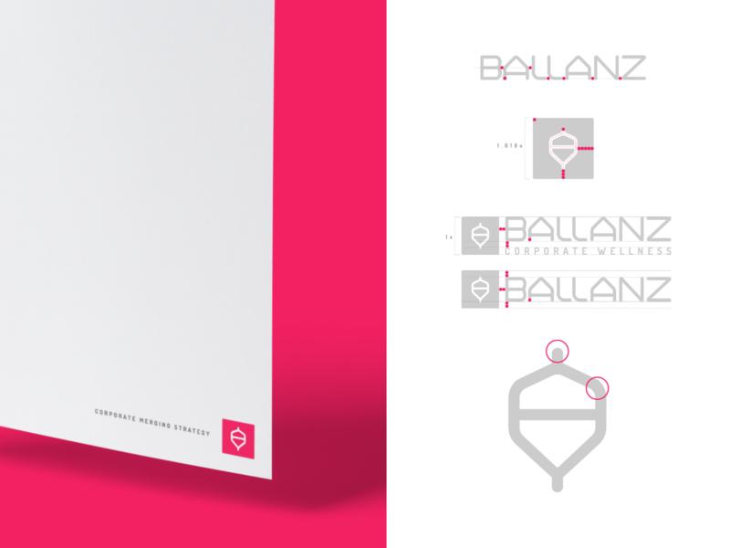 Ballanz – Branding Design ballanz balance concept naming logo brand design spinning top mockup branding