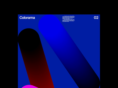 Colorama 44 branding illustration logo art direction typography clean simple motion graphics