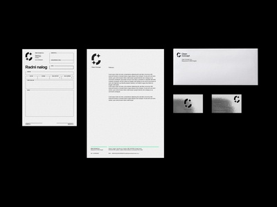 Clean Concept design color logo branding art direction typography simple clean