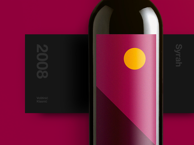 Syrah Wine Label