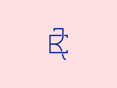 ER Monogram monogram r e design lettering type branding logo