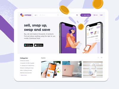 A platform for Swapping products