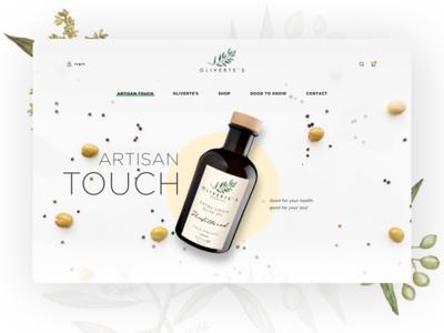 Olive Concept - Homepage - v2